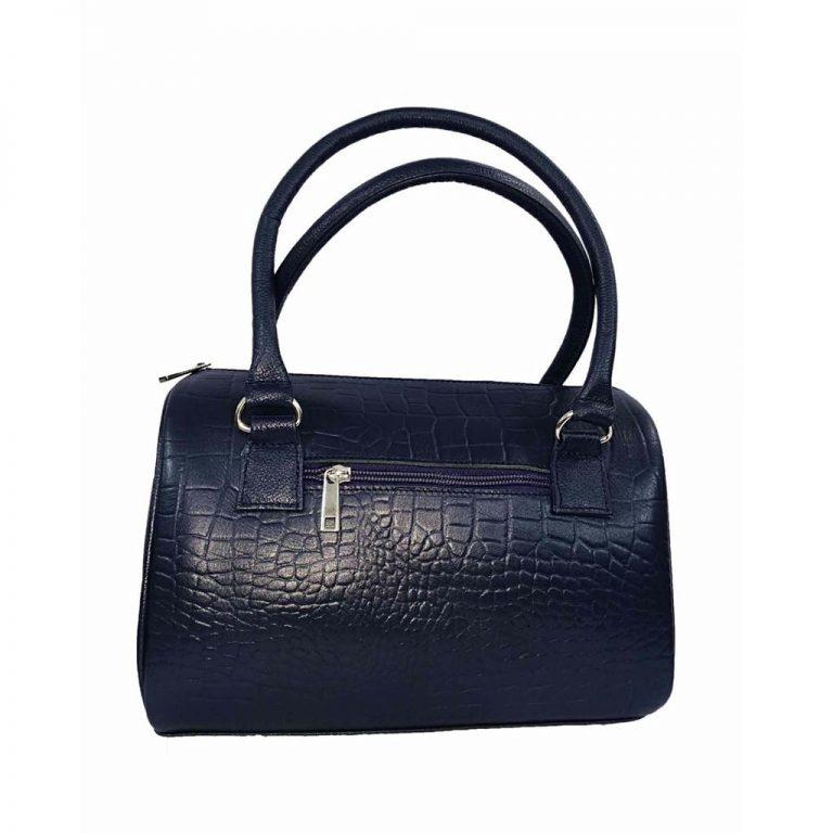 Bag Woman marron colored calf leather